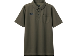 Daiwa - 2019 Button Down Polo Shirt - DE-6507 - KHAKI - Men's L Size | Eastackle