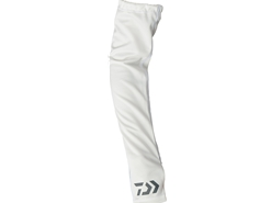Daiwa - 2019 Cool Arm Cover - DG-77009 - WHITE - L Size | Eastackle