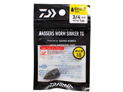 Daiwa - Bassers Worm Sinker TG New Bullet 21g - 3/4oz (1pc) | Eastackle