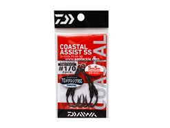 Daiwa - Coastal Assist - SS H Twin - #1/0 - Assist Jigging Hooks | Eastackle