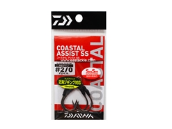 Daiwa - Coastal Assist - SS RS Twin - #2/0 - Assist Jigging Hooks | Eastackle