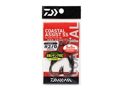 Daiwa - Coastal Assist - SS  Twin - #2/0 - Assist Jigging Hooks | Eastackle