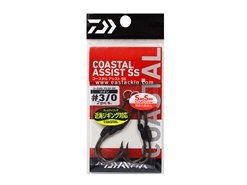 Daiwa - Coastal Assist - SS  Twin - #3/0 - Assist Jigging Hooks | Eastackle
