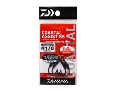 Daiwa - Coastal Assist - SSHRS Twin - #1/0 - Assist Jigging Hooks | Eastackle
