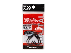Daiwa - Coastal Assist - SSHRS Twin - #2/0 - Assist Jigging Hooks | Eastackle