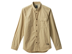 Daiwa - Cordura Long Sleeve Shirt - DE-89008 - BEIGE - Men's M Size | Eastackle