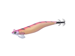 Daiwa - Emeraldas Stream Rattle 3.0 - GOLD SHIMA PINK SUGI - Squid Jig | Eastackle