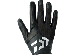 Daiwa - Full Finger Jigging Gloves - DG-71008 - BLACK - XL SIZE | Eastackle