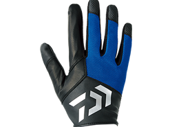 Daiwa - Full Finger Jigging Gloves - DG-71008 - BLUE - L SIZE | Eastackle