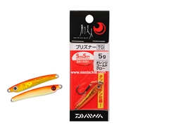 Daiwa - 月下美人 Gekkabijin Prisoner TG 5grams - ORANGE GOLD GLOW - Tungsten Aji Micro Jig | Eastackle