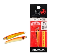 Daiwa - 月下美人 Gekkabijin Prisoner TG 7grams - ORANGE GOLD GLOW - Tungsten Aji Micro Jig | Eastackle