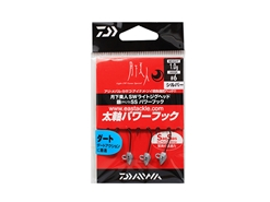 Daiwa - 月下美人 Gekkabijin SW Light Jighead YAJIRI SS Power Hook - 1.0grams #6 - SILVER | Eastackle