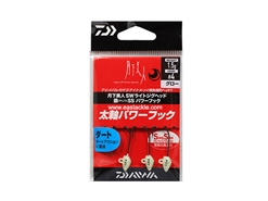 Daiwa - 月下美人 Gekkabijin SW Light Jighead YAJIRI SS Power Hook - 1.5grams #4 - GLOW | Eastackle