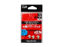 Daiwa - 月下美人 Gekkabijin SW Light Jighead YAJIRI SS Power Hook - 1.5grams #6 - GLOW | Eastackle