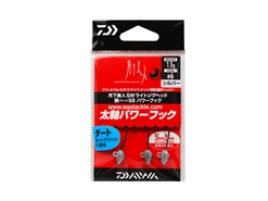 Daiwa - 月下美人 Gekkabijin SW Light Jighead YAJIRI SS Power Hook - 1.5grams #6 - SILVER | Eastackle