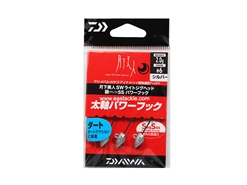 Daiwa - 月下美人 Gekkabijin SW Light Jighead YAJIRI SS Power Hook - 2.0grams #6 - SILVER | Eastackle
