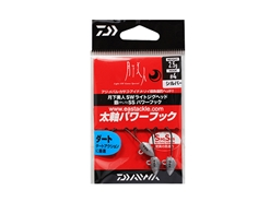 Daiwa - 月下美人 Gekkabijin SW Light Jighead YAJIRI SS Power Hook - 2.5grams #4 - SILVER | Eastackle