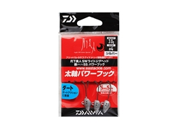 Daiwa - 月下美人 Gekkabijin SW Light Jighead YAJIRI SS Power Hook - 3.0grams #4 - SILVER | Eastackle