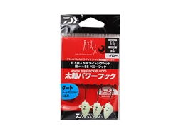 Daiwa - 月下美人 Gekkabijin SW Light Jighead YAJIRI SS Power Hook - 5.0grams #4 - GLOW | Eastackle