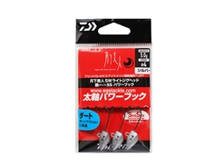 Daiwa - 月下美人 Gekkabijin SW Light Jighead YAJIRI SS Power Hook - 5.0grams #4 - SILVER | Eastackle