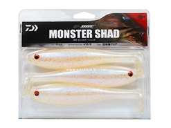 Daiwa - HRF Monster Shad 6in - NIHONKAI CLEAR - Soft Plastic Swim Bait | Eastackle