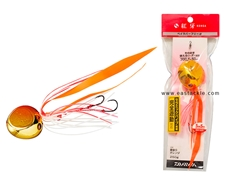 Daiwa - Kohga Bay Rubber Free Alpha 250grams - PLATING GOLD ORANGE - Tai-Rubber Jighead | Eastackle