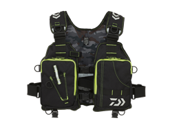 Daiwa - Light Wading Game Vest - DF-6406 BLACK - Free Size | Eastackle
