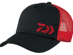 Daiwa - Quick Drying Hexagonal Cap - DC-64008 - BLACK RED - FREE SIZE | Eastackle