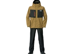 Daiwa - Rain Max Rain Suit - DR-36008 - BUTTER NUTS - Men's L Size | Eastackle