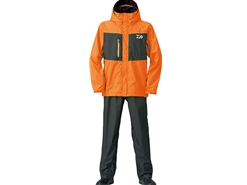 Daiwa - Rain Max Rain Suit - DR-36008 - FRESH ORANGE - Men's M Size | Eastackle
