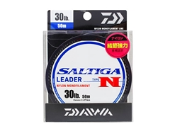 Daiwa - Saltiga Leader Type N (30lbs) - 50m - Nylon Monofilament | Eastackle
