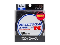Daiwa - Saltiga Leader Type N (60lbs) - 50m - Nylon Monofilament | Eastackle