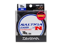Daiwa - Saltiga Leader Type N (70lbs) - 50m - Nylon Monofilament | Eastackle