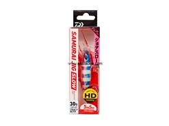 Daiwa - Samurai Jig Slow 30grams - BLUE PINK ZEBRA - Metal Jig | Eastackle