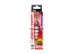 Daiwa - Samurai Jig Slow 40grams - BLUE PINK ZEBRA - Metal Jig | Eastackle