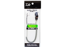 Daiwa - Shitte Rope 600 - GREY - Coiled Fishing Lanyard | Eastackle