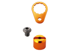 Daiwa - SLP Works Custom Parts Kit - ORANGE | Eastackle