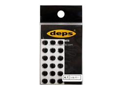 Deps - CRYSTAL EYE - 6.7mm  - SILVER