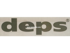 Deps - CUTTING STICKER - LARGE SILVER