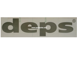 Deps - CUTTING STICKER - MEDIUM SILVER