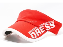 Dress - SUN VISOR - RED