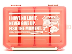 Evergreen - COMBAT LURE CASE - S - CLEAR-RED