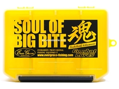 Evergreen - COMBAT LURE CASE - S - CLEAR-YELLOW