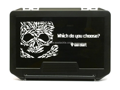 Gancraft - LURESKULL MULTI BOX - BLACK COVER-WHITE CASE