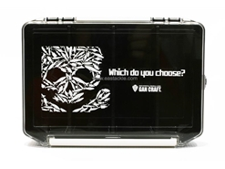 Gancraft - LURESKULL MULTI BOX - CLEAR COVER-BLACK CASE