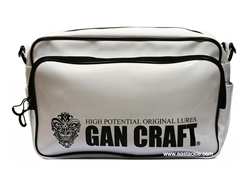 Gancraft - MULTI ENAMEL TRACK BAG - WHITE