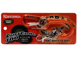 Geecrack - CURL CORD LANYARD 100 - ORANGE