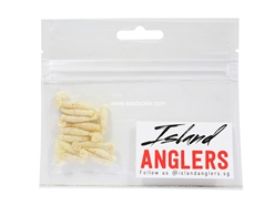 "Island Anglers - Ale Uto 1.1"" - OFF WHITE - Soft Plastic Swim Bait 