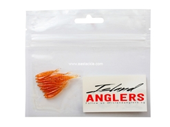 "Island Anglers - Ikan Bilis 1"" - COPPER BROWN - Soft Plastic Jerk Bait 