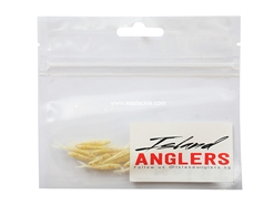 "Island Anglers - Ikan Bilis 1"" - OFF WHITE - Soft Plastic Jerk Bait 